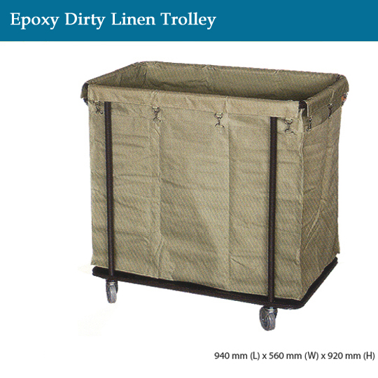 janitorial-epoxy-dirty-linen-trolley