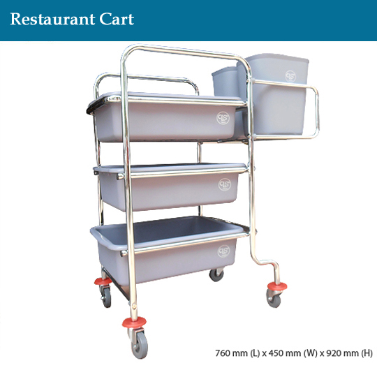 janitorial-restaurant-cart