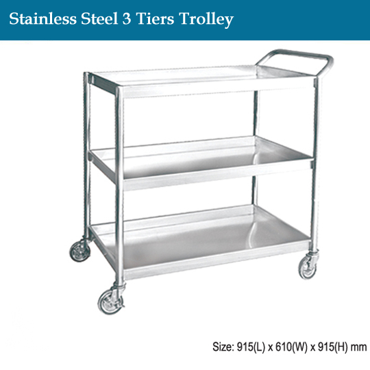 janitorial-stainless-steel-3-tiers-trolley