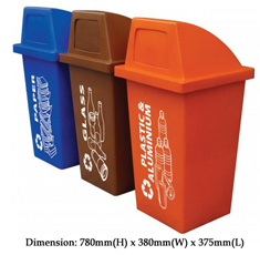 wheel bins & recycle bins
