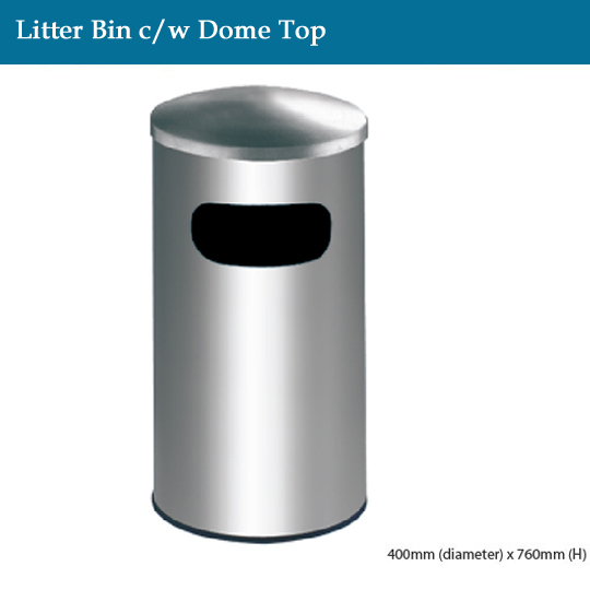 stainless-steel-litter-bin-c-w-dome-top