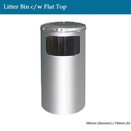stainless-steel-litter-bin-c-w-flat-top