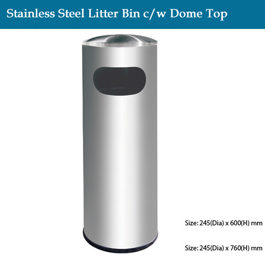stainless-steel-stainless-steel-litter-bin-c-w-dome-top
