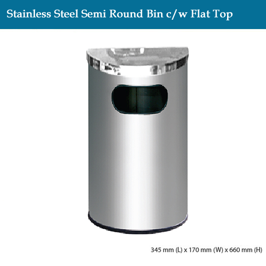 stainless-steel-stainless-steel-semi-round-bin-c-w-flat-top
